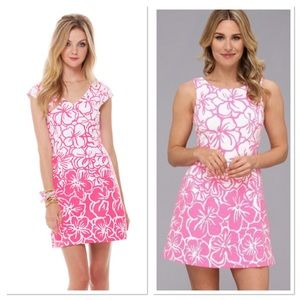 Lily Pulitzer Desiree Cap Sleeve Floral Dress XS